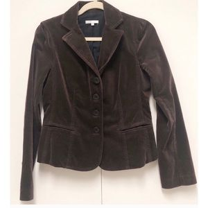 Vince. Size 8 Brown Blazer/Jacket